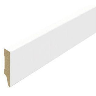 Stijlplint Blok Witfolie 15x80mm