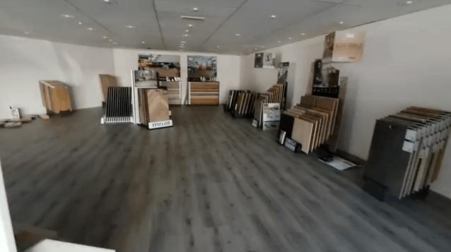 showroom Keistad vloeren